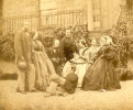 John and Jeannie Murison with other family members at Belmont House in Stonehaven in 1862